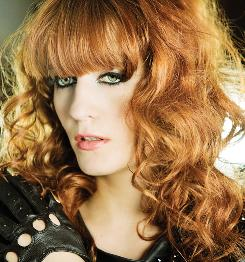 British pop star Florence Welch, aka Florence and The Machine, is starting to make waves on the charts in the USA.