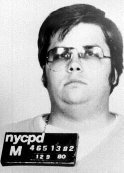 John Lennon's assassin, Mark David Chapman, in a 1980 photo.