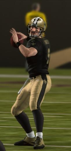 Madden NFL 11, featuring Saints QB Drew Brees, offers free online play, but not for used games.