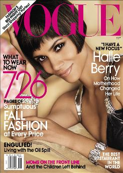 """The decision was easy: """"What (being on the cover of the September Vogue) means for a woman of color and what that means in the fashion world, what that means to pop culture, there was no way I could say, 'No, I'm not going to be on the biggest issue of the year.' """""""