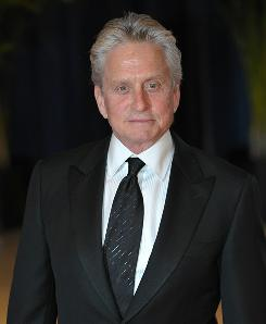 "Michael Douglas is ""very optimistic,"" he said in a statement."