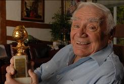 Come January, Ernest Borgnine will have a new addition to his trophy case: the Screen Actors Guild Lifetime Achievement Award.