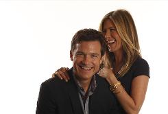 Actors Jason Bateman and Jennifer Aniston, who star together in The Switch, have known each other for 15 years.