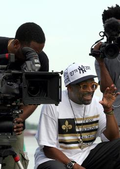 Lights, camera, action: Spike Lee at work on If God Is Willing and Da Creek Don't Rise, a follow-up to When the Levees Broke.