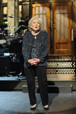Betty White Mania extended all the way to Saturday's Creative Arts Emmys, where her Saturday Night Live gig from May won for guest actress in a comedy series.