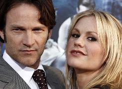 True Blood stars Stephen Moyer, 40, and Anna Paquin, 28, tied the knot Saturday in Malibu.