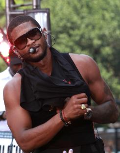 On his new album, Versus, Usher wants you ladies to know that he is single and ready to mingle.