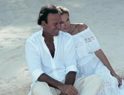 Spanish 66-year-old singer Julio Iglesias wed his longtime partner and former Dutch model Miranda Rijnsburger, 45, in a private ceremony in Marbella, a statement from his entourage said. The couple's five children, aged between 3 and 13, were at the ceremony held at the Virgen del Carmen parish in the southern Spanish city, along with two witnesses.