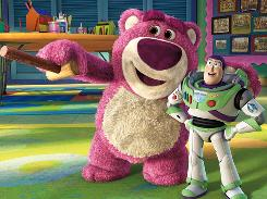 Toy Story 3: Lots-o-Huggin Bear, Buzz Lightyear.