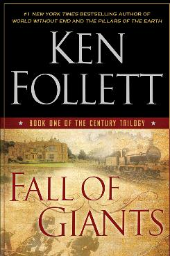 Pillars of the Earth author Ken Follett begins another trilogy with Fall of Giants.