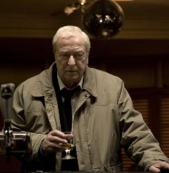 Michael Caine is the title character in Harry Brown, a man who takes things into his hands after his best friend is killed.