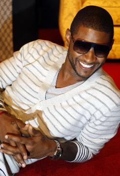 """Relaxing isn't really in my DNA,"" says Usher, whose tour launches Nov. 10."