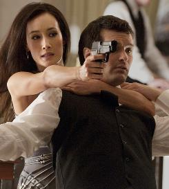 Nikita (Maggie Q), escaping the bonds of a secret U.S. agency that trained her as an assassin, aims to terminate the agency.