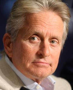 Highs and lows: Michael Douglas' career is on the rebound this year  he returns to his signature Wall Street role on Sept. 24  but in August, he was diagnosed with cancer.
