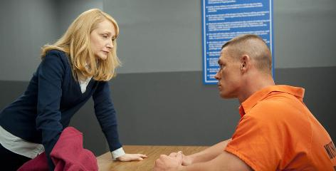 Widowed mother Sharon Chetley (Patricia Clarkson) and her older son, Mike (John Cena), go head to head as they struggle to unite their family.