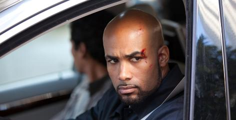 Boris Kodjoe plays spy-out-of-retirement Steven Bloom in Undercovers.