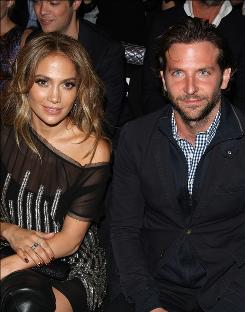 Jennifer Lopez and Bradley Cooper looked stylish at the Tommy Hilfiger Spring 2011 collection Sunday.