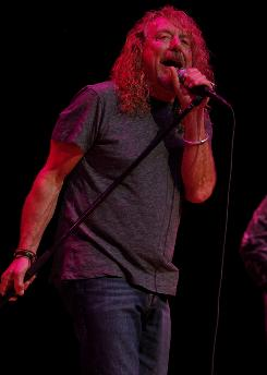 Nashville fan: Robert Plant has spent a lot of time in the music capital.