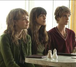 Living donors: Carey Mulligan, left, Keira Knightley and Andrew Garfield were cloned for organs.