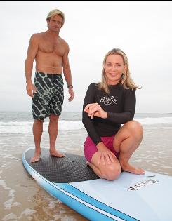 "Getting a ""glimpse of the ocean with its gloves off"": But not on this Montauk, N.Y., beach. Big-wave surfer Laird Hamilton took Susan Casey to Maui to ride the wave known as ""Jaws."""