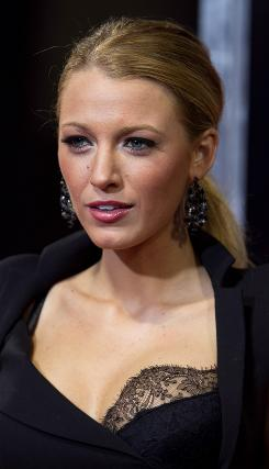 Blake Lively attends the Sept. 14 premiere of The Town at Boston's Fenway Park. The Ben Affleck-directed film was shot in the Boston neighborhood of Charlestown.
