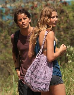 Where the story starts: Jason Ritter plays Sean Walker, who is looking for his lost girlfriend, Leila (Sarah Roemer).
