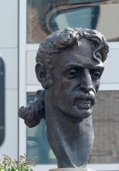 A statue of Frank Zappa was unveiled Sunday in Baltimore, the city where Zappa was born. The statue was donated to the city by ZAPPART, a Lithuanian non-profit organization.