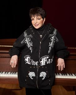 Just a girl and a piano: Liza Minnelli's new album, Confessions, which hits shelves Tuesday, is a collection of intimate, piano-driven ballads, including standards such as I Got Lost in His Arms and At Last.