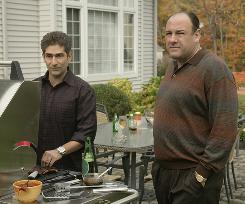 Michael Imperioli, with Sopranos star James Gandolfini, says fans still ask him about the memorable finale to the HBO series.