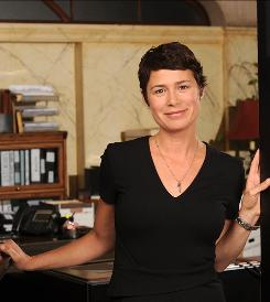 Maura Tierney, whose ER role as Dr. Abby Lockhart ended in 2009, now takes on the legal profession in The Whole Truth as a deputy bureau chief in a district attorney's office.