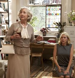 You think you've got problems: Gemma Jones, left, and Naomi Watts are a mother and daughter facing a familial shake-up in Woody Allen's You Will Meet a Tall Dark Stranger.