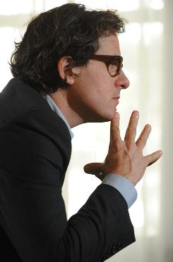 Documentarian: Davis Guggenheim's Waiting for Superman, about the public schools, is in theaters Friday.