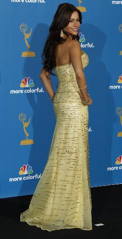 At the Emmys: Sofia Vergara had a wide range of dress choices for the TV awards. She was nominated for best supporting actress in a comedy.