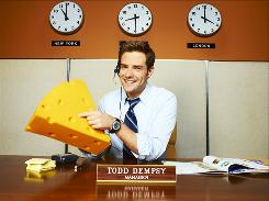 Todd (Ben Rappaport) moves to India to keep his call-center job.