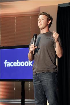 Facebook CEO Mark Zuckerberg wil discuss his donation on Oprah Winfrey's talk show on Friday.