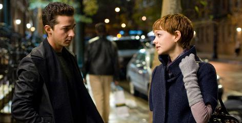 Romantic merger: Shia LaBeouf and Carey Mulligan began a romance after meeting on the film set.