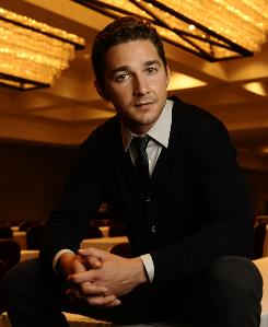 Serious role: Money Never Sleeps features Shia LaBeouf as Jake, a young trader who plans to marry the daughter of a disgraced former corporate raider.