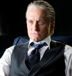 Ceding the spotlight: Michael Douglas again plays Gordon Gekko, but he's not the film's main focus.