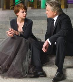 Wall Street: Money Never Sleeps, with Carey Mulligan and Michael Douglas, was No. 1 at the box office this weekend.