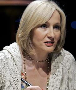During her TV appearance, J.K. Rowling will talk to Oprah Winfrey about coping with fame.