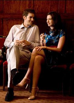 July 15, 2000: Upper-class Dexter (Jim Sturgess) and working-class Emma (Anne Hathaway) meet up again at a wedding.