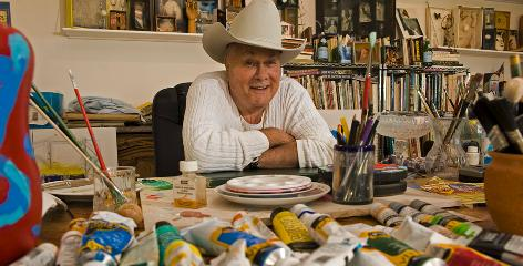 Tony Curtis invited USA TODAY into his art studio in 2008, as he was releasing his memoir, American Prince: A Memoir.
