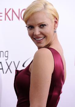 Katherine Heigl attends the premiere of Life As We Know It  in New York on Thursday.