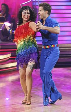 Margaret Cho and Louis Van Amstel are the latest casualties of the Dancing With the Stars elimination vote.