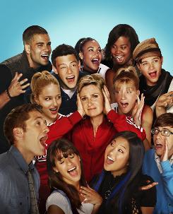 Glee has six debuts on the Billboard Hot 100 chart this week.