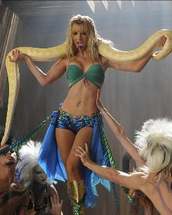Who needs a solid plot? Not Glee, when it has Brittany (Heather Morris) fantasizing about being Britney Spears while sitting in the dentist's chair.