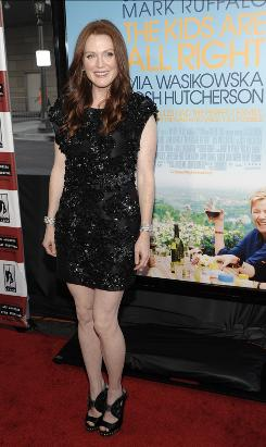 Julianne Moore is heading to the Rome Film Festival to promote her family dramedy The Kids Are All Right.