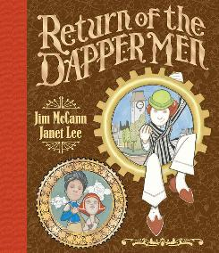 "Cover to ""Return of the Dapper Men"" from Archaia Comics"