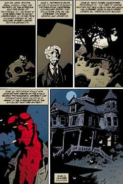 An installment from Hellboy: The Whittier Legacy