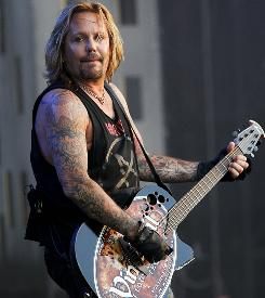 Vince Neil performs at the Wacken Open Air Festival in Germany.